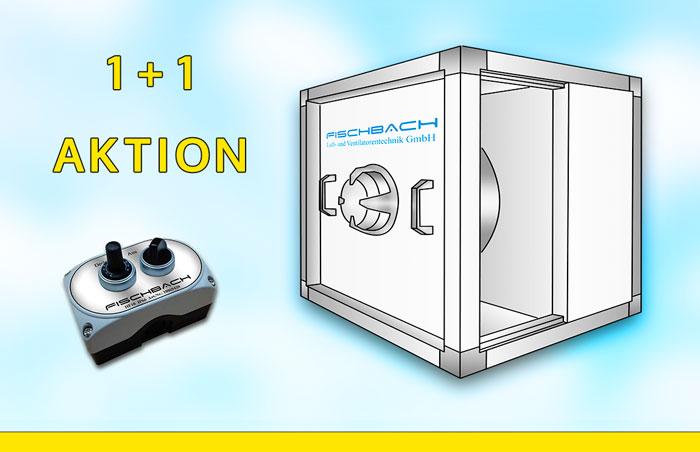 Fischbach Küchenabluft Ventilator Straight Air Box