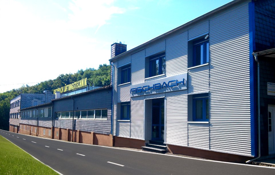 Fischbach center and factory today in Neunkirchen, Germany