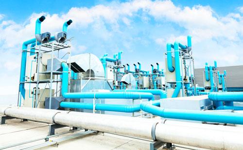 Industrielles Abluftsystem von Fischbach