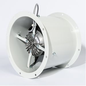 Fischbach Axial Fans mounted backview