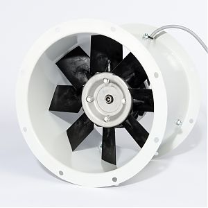 Fischbach Axial Fans mounted frontview