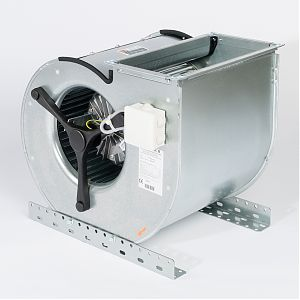 Fischbach Compact Fan D/DS/DS-EC with double motor side view