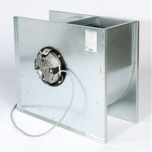 Fischbach Compact Fan HEK/HEK-EC Series Backview
