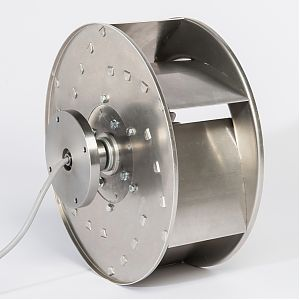 Fischbach Freewheeling Impeller FLR/FLR-EC Series Sideview