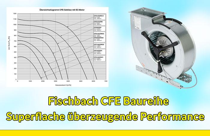 Fischbach CFE Baureihe mit superflacher Bauweise