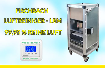 Fischbach Luftreiniger LRM mit Steuergerät