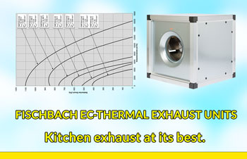 Fischbach EC-Thermal Exhaust Units for Kitchen Exhaust