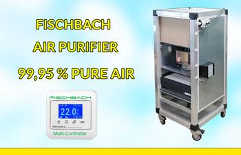Fischbach Air Purifier LRM for Pure Air