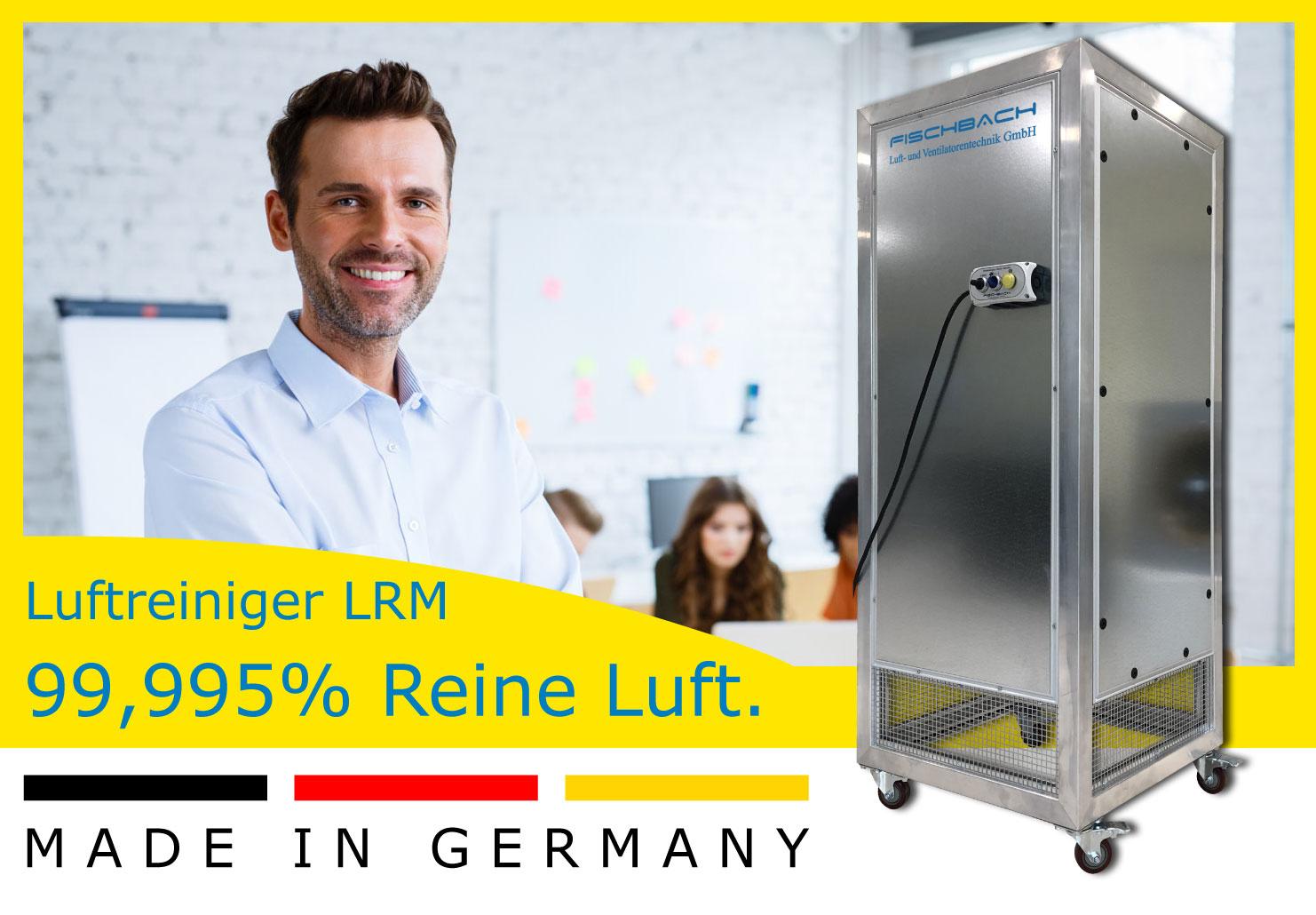 Fischbach Luftreiniger LRM - 99,995% Lufreinigung