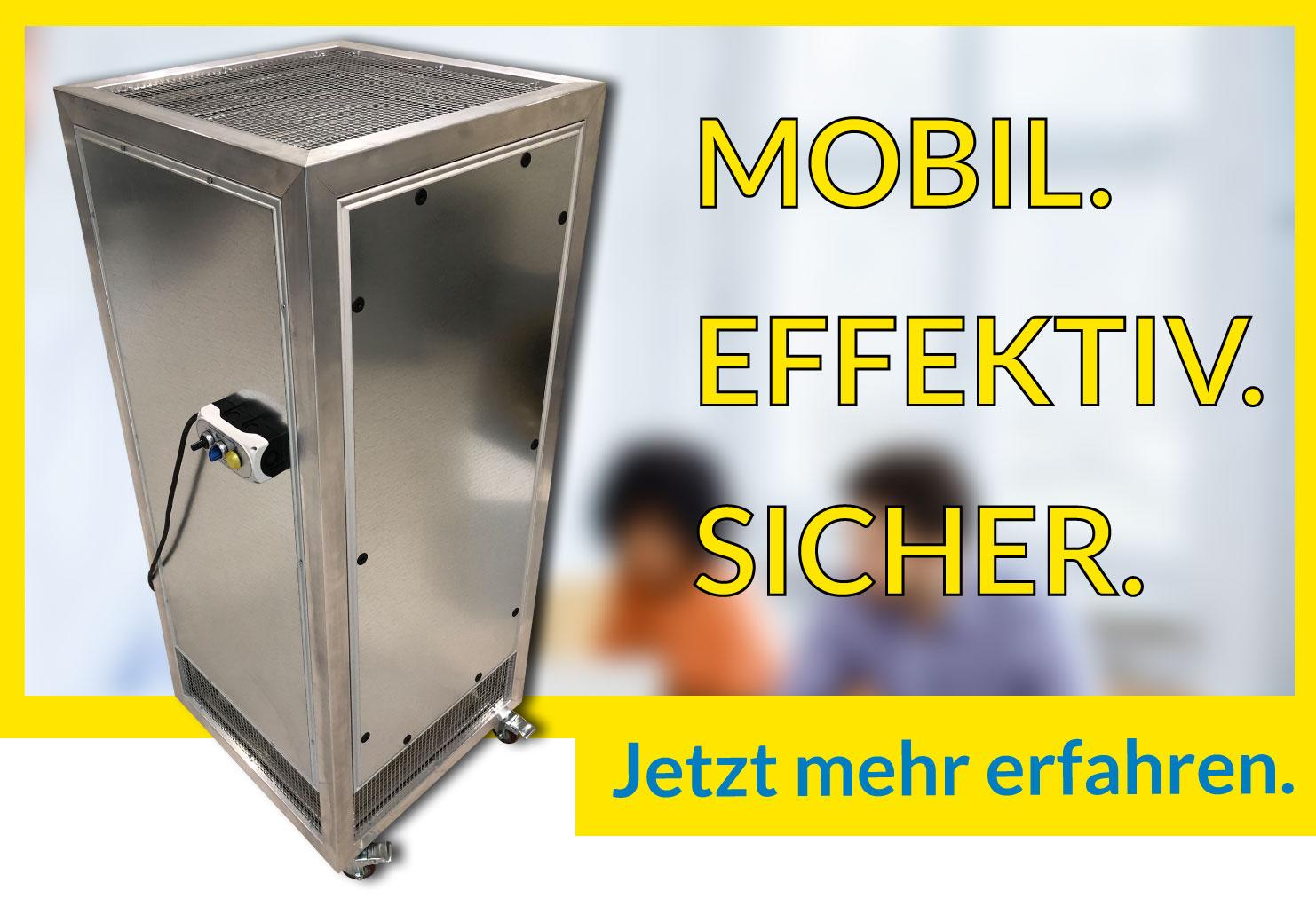 Fischbach Luftreiniger LRM - mobiles Luftreinigungsgerät