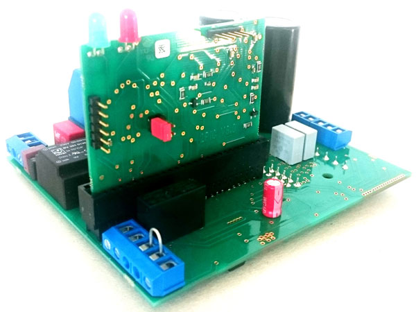 Elektronik von Spannungsregelbarem EC-Motor